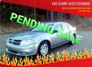 2014 Dodge Avenger for sale at Eau Claire Auto Exchange in Elk Mound WI