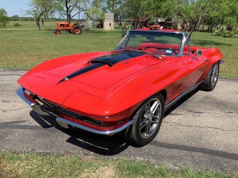 1967 Chevrolet Corvette for sale at STREET DREAMS TEXAS in Fredericksburg TX