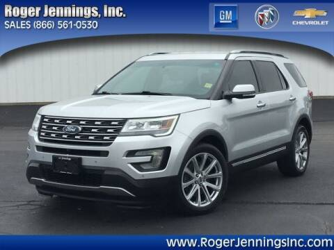 2016 Ford Explorer for sale at ROGER JENNINGS INC in Hillsboro IL