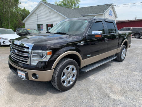 2013 Ford F-150 for sale at Evia Auto Sales Inc. in Glens Falls NY
