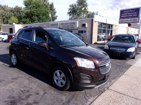 2015 Chevrolet Trax for sale at Gregory J Auto Sales in Roseville MI