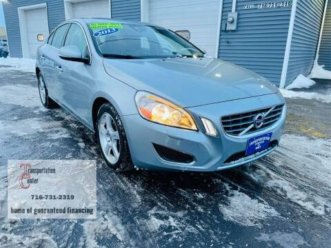 2013 Volvo S60 for sale at Transportation Center Of Western New York in Niagara Falls NY