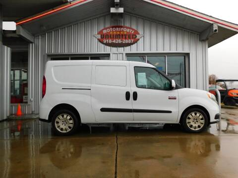 2016 RAM ProMaster City Cargo for sale at Motorsports Unlimited in McAlester OK