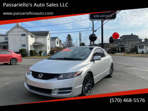 2010 Honda Civic for sale at Passariello's Auto Sales LLC in Old Forge PA