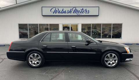 2011 Cadillac DTS for sale at Wabash Motors in Terre Haute IN