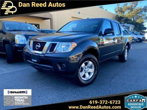 2013 Nissan Frontier for sale at Dan Reed Autos in Escondido CA