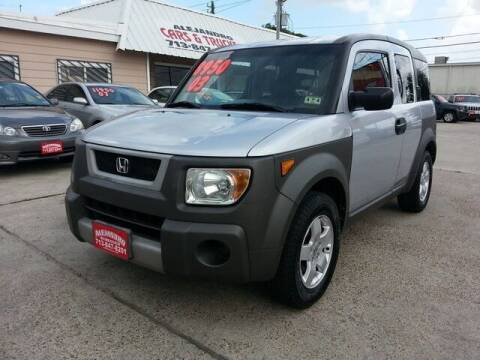 2003 Honda Element for sale at Alejandro Cars & Trucks in Houston TX