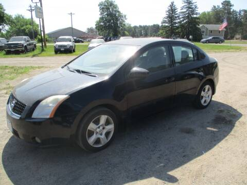 2009 Nissan Sentra for sale at D & T AUTO INC in Columbus MN