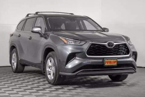 2020 Toyota Highlander for sale at Washington Auto Credit in Puyallup WA