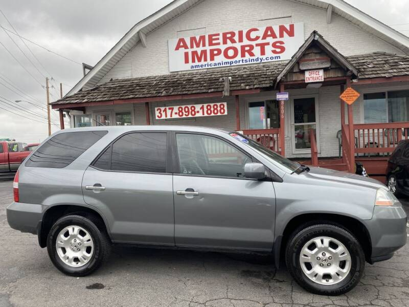 2002 Acura MDX for sale in Indianapolis, IN