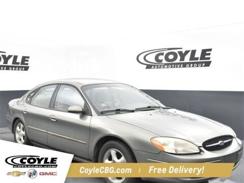 2001 Ford Taurus for sale at COYLE GM - COYLE NISSAN - New Inventory in Clarksville IN