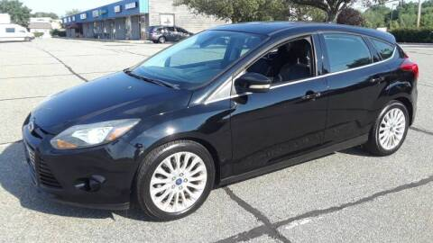 2012 Ford Focus for sale at Jan Auto Sales LLC in Parsippany NJ
