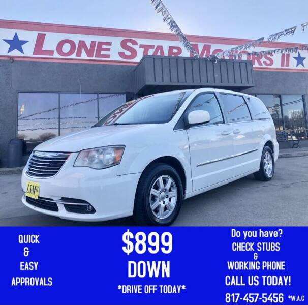 2012 Chrysler Town and Country for sale at LONE STAR MOTORS II in Fort Worth TX