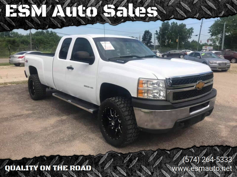 2012 Chevrolet Silverado 2500HD for sale at ESM Auto Sales in Elkhart IN
