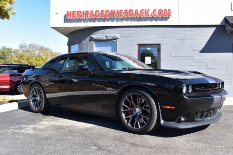 2015 Dodge Challenger for sale at Heritage Automotive Sales in Columbus in Columbus IN