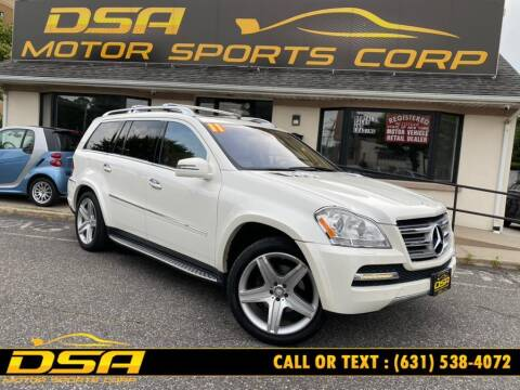 2011 Mercedes-Benz GL-Class for sale at DSA Motor Sports Corp in Commack NY