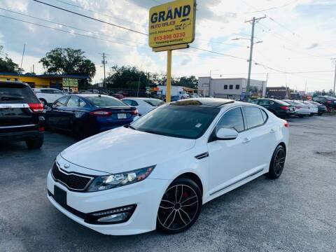 2013 Kia Optima for sale at Grand Auto Sales in Tampa FL