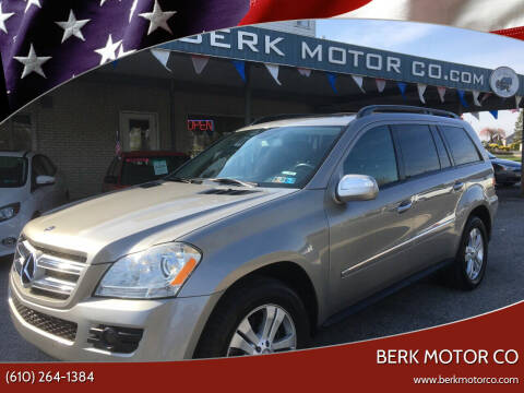2009 Mercedes-Benz GL-Class for sale at Berk Motor Co in Whitehall PA