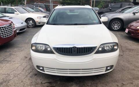 2003 Lincoln LS for sale at Six Brothers Auto Sales in Youngstown OH
