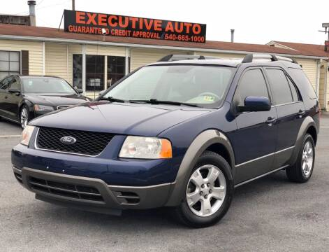 2007 Ford Freestyle for sale at Executive Auto in Winchester VA