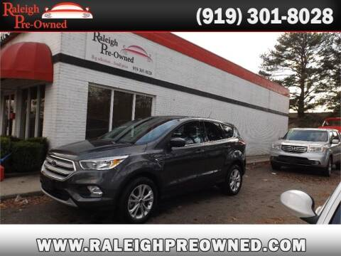 2019 Ford Escape for sale at Raleigh Pre-Owned in Raleigh NC