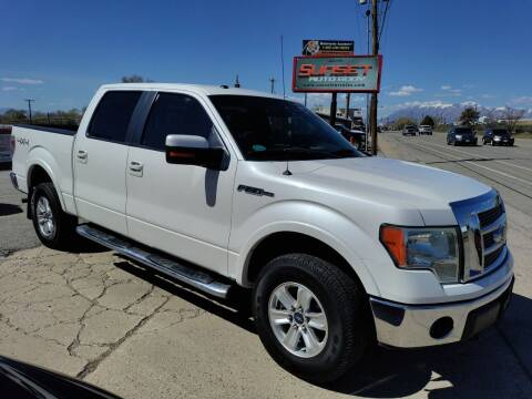 2011 Ford F-150 for sale at Sunset Auto Body in Sunset UT