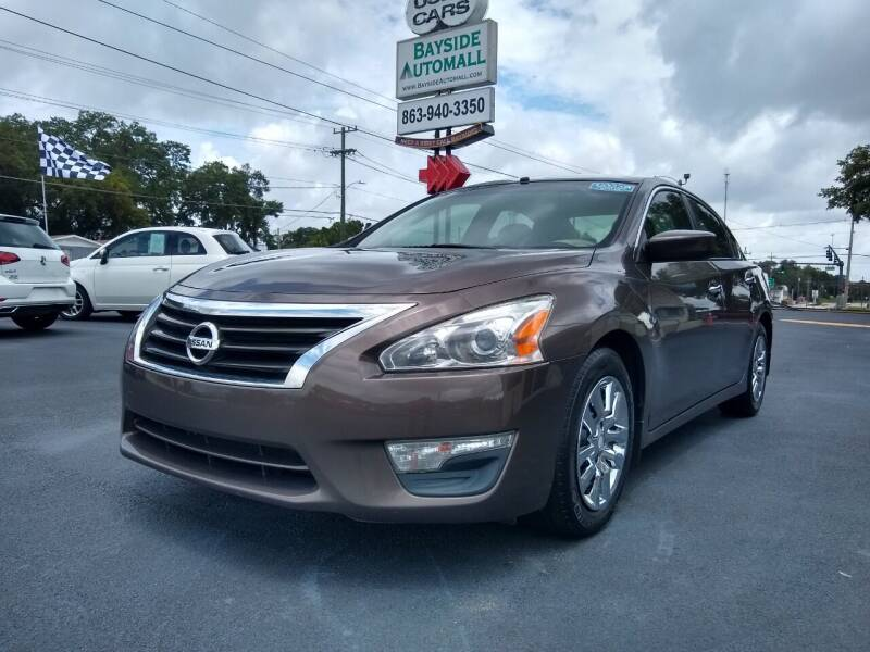 2013 Nissan Altima for sale at BAYSIDE AUTOMALL in Lakeland FL