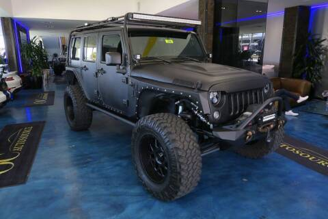 2017 Jeep Wrangler Unlimited for sale at OC Autosource in Costa Mesa CA