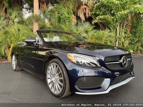 2018 Mercedes-Benz C-Class for sale at Autohaus of Naples in Naples FL