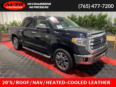 2018 Toyota Tundra for sale at Auto Express in Lafayette IN