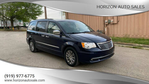 2013 Chrysler Town and Country for sale at Horizon Auto Sales in Raleigh NC