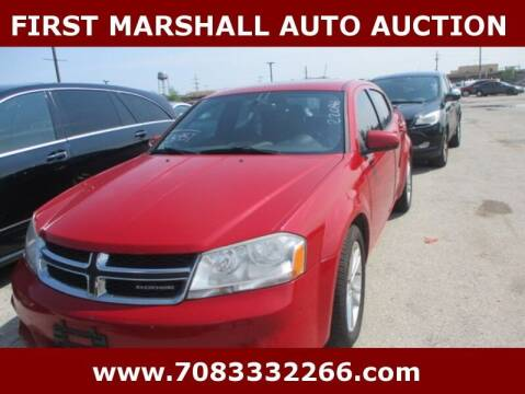 2011 Dodge Avenger for sale at First Marshall Auto Auction in Harvey IL