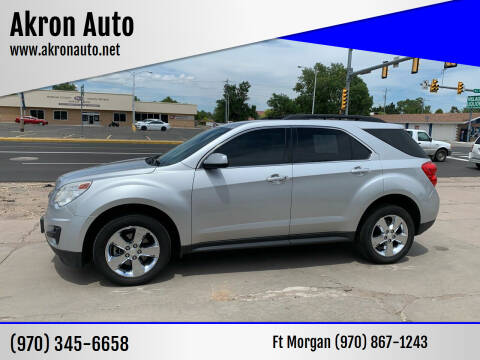 2013 Chevrolet Equinox for sale at Akron Auto - Fort Morgan in Fort Morgan CO