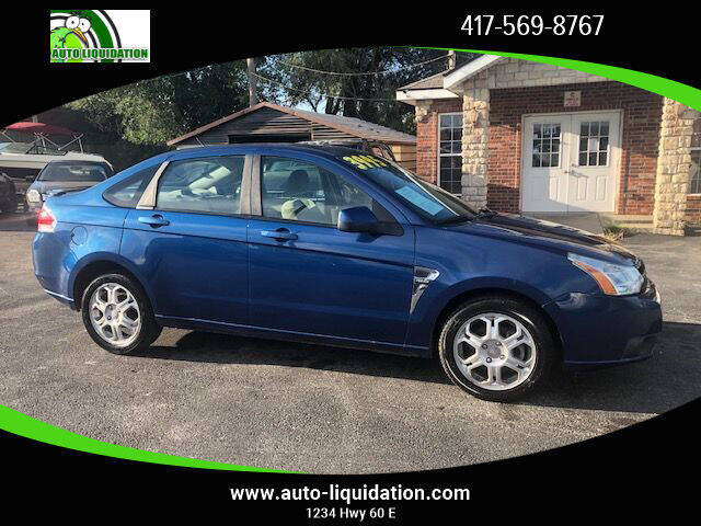 2008 Ford Focus for sale at Auto Liquidation in Springfield MO