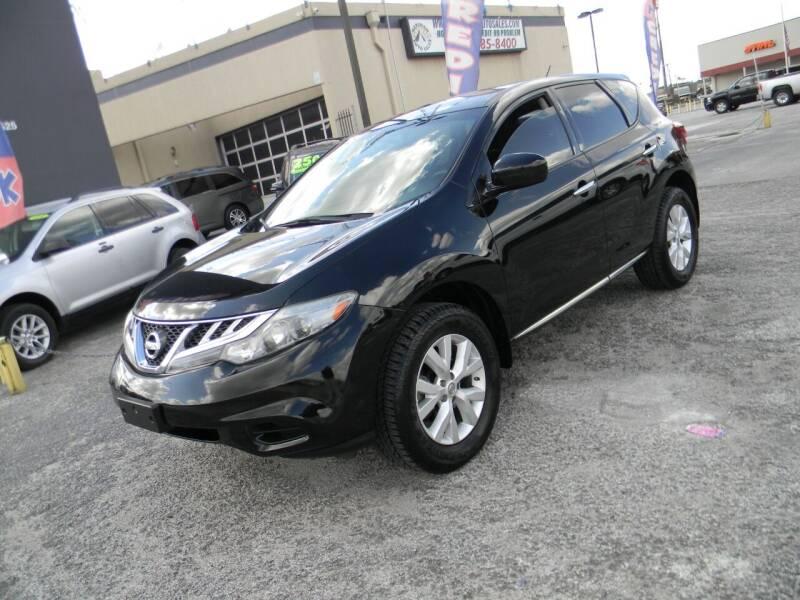 2014 Nissan Murano for sale at Meridian Auto Sales in San Antonio TX