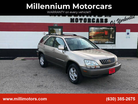 2002 Lexus RX 300 for sale at Millennium Motorcars in Yorkville IL