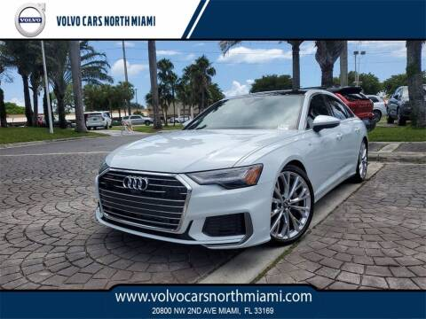 2019 Audi A6 for sale at Volvo Cars North Miami in Miami FL