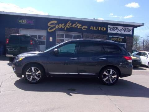 2014 Nissan Pathfinder for sale at Empire Auto Sales in Sioux Falls SD