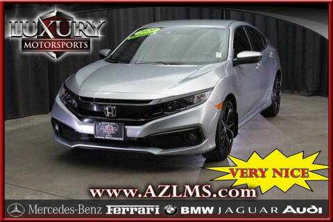 2020 Honda Civic for sale at Luxury Motorsports in Phoenix AZ