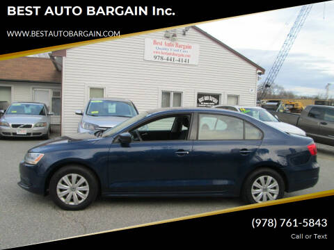 2014 Volkswagen Jetta for sale at BEST AUTO BARGAIN inc. in Lowell MA