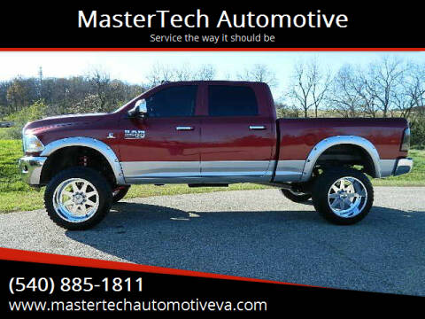 2013 RAM Ram Pickup 2500 for sale at MasterTech Automotive in Staunton VA