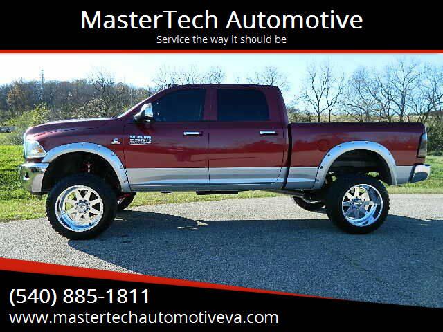 2013 RAM Ram Pickup 2500 for sale at MasterTech Automotive in Staunton VA