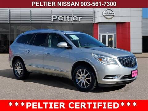 2017 Buick Enclave for sale at TEX TYLER Autos Cars Trucks SUV Sales in Tyler TX
