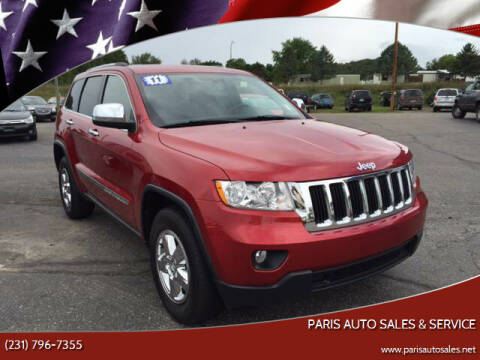 2011 Jeep Grand Cherokee for sale at Paris Auto Sales & Service in Big Rapids MI