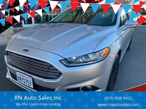 2013 Ford Fusion for sale at RN Auto Sales Inc in Sacramento CA