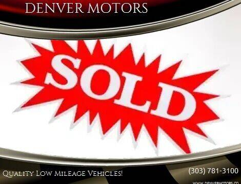 2003 Mercedes-Benz SL-Class for sale at DENVER MOTORS in Englewood CO