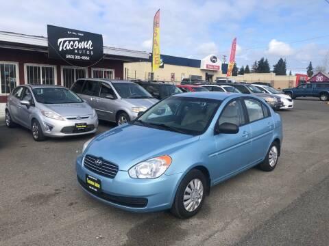 2010 Hyundai Accent for sale at Tacoma Autos LLC in Tacoma WA