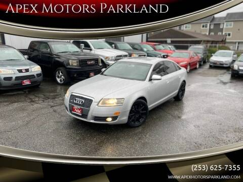 2006 Audi A6 for sale at Apex Motors Parkland in Tacoma WA