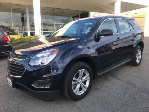 2016 Chevrolet Equinox for sale at Autos Wholesale in Hayward CA