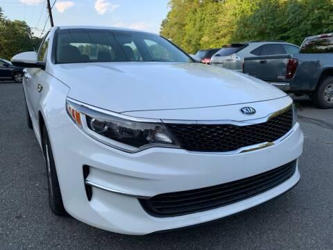 2018 Kia Optima for sale at D & M Discount Auto Sales in Stafford VA